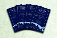 Roberts Wealth Invite Design & Printed by AlphaGraphics Sugar Land