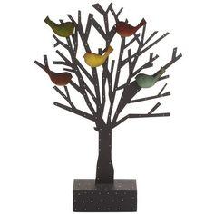 Tree Photoholder with Bird Magnets | Pier 1