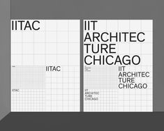 How Main Studio's First Gig for This Chicago Architecture School Turned into a Total Rebrand - The best, most holistic, and organic identity systems are often the ones where a design team and a - Web Design, Grid Design, Book Design, Layout Design, Grid Graphic Design, Banner Design, Architecture Magazines, Architecture Portfolio, School Architecture