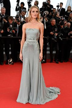 Rosie Huntington Whiteley in GUCCI at Cannes Film Festival 2014