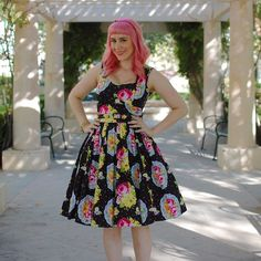The first of many Bernie themed posts is up! This is the first of the four dresses she sent me. More pics are on the blog, link in profile #berniedexter #blogger #ootd #wiw #pinkhair #pravana #stylegallery
