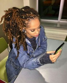 Goddess locs are one of the most popular protective hairstyles out today, loved for their versatility and natural appearance. Here are 55 goddess locs styles. Faux Locs Hairstyles, Protective Hairstyles, Girl Hairstyles, Teenage Hairstyles, Protective Styles, Easy Hairstyles, Baddie Hairstyles, Layered Hairstyles, Black Hairstyles