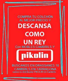 Mobles Cambrils en Cambrils, Cataluña   Te dejamos unos #consejos para #dormir mejor de la mano de #Pikolin somos tu #distribuidor en #Cambrils #Tarragona