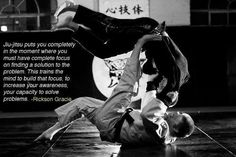 Your mind is cleared of every other thought and problem, nothing else matters, that is why I love jiu jitsu so much.