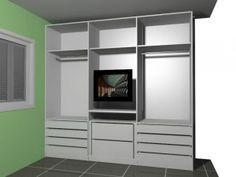 guarda roupa com tv integrada - Pesquisa Google