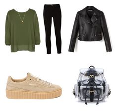 """""""Untitled #4"""" by dianapinta on Polyvore featuring WearAll, Frame and Puma"""