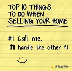 Funny, but SO true! The Lighter Side of Real Estate: