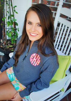 A personal favorite from my Etsy shop https://www.etsy.com/listing/249172907/preppy-lilly-pulitzer-monogrammed