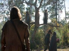 Stills from Salem episode 101, via WGN America: The Official Web Site