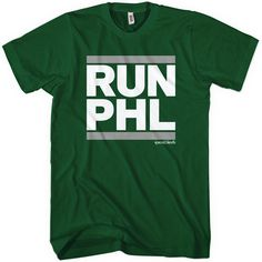 Run Philly tee in all sizes