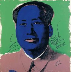 Mao, 1972 Andy Warhol http://andywarhol-art.tumblr.com/post/139017911716