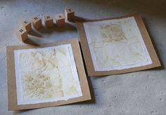 gk kreativ: Upcycling - Grußkarte aus Teebeutelpapier basteln Inspiration, Home Decor, Paper, Upcycling Ideas, Pouch, Sewing Patterns, Tutorials, Cards, Creative