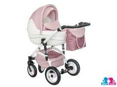Der pastellfarbene Bezug des Kinderwagens ist eine ideale Wahl, wenn ein Mädchen zur Welt kommen soll. #Kombikinderwagen #Kinderwagen #Buggy #Babyschale http://www.neo4kids.de/Kinderwagen-Kombikinderwagen-2-in-1-Buggy-Sportkinderwagen-EVADO-weiss-rosa-11