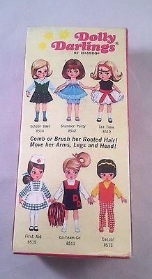 Rare 1966 Hasbro Dolly Darlings