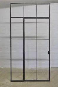 Steel Glass Loft Door Mit Bildern Glaswand Loft Mobel