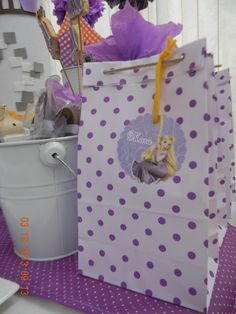 Rapunzel Birthday Party, Tangled Party, Birthday Parties, Party Stores, Party Bags, Goodie Bags, Princess Party, My Children, Party Time