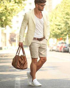 Une tenue casual chic pour l'été #look #mode #homme #casual #casualchic #fashion #men #fashionformen