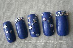 Nail Art- Stargazing