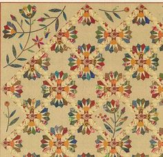 Dresden Bloom quilt pattern by Edyta Sitar of Laundry Basket Quilts in Crafts, Sewing & Fabric, Quilting   eBay