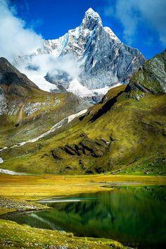 Montaña Jirishanca, Cordillera Huayhuash - Región Ancash