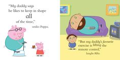 Customise Daddy and your child in our new My Daddy Peppa Pig book #fathersday
