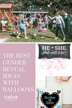 Gender Reveal ideas with balloons you are going to love! The best Gender Reveals with balloons for a Gender Reveal Party to remember. #genderreveal #genderrevealparty #genderrevealideas #genderrevealwithballoons #genderrevealballoon #genderrevealballoons #babyreveal #genderrevealbox #genderrevealpartyideas