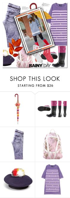 """Rainy Day"" by ilona-828 ❤ liked on Polyvore featuring Missoni, Zadig & Voltaire, Puma, Eugenia Kim, PèPè, MANGO, StreetStyle and rainyday"