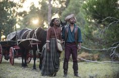 Aunjanue Ellis and Cuba Gooding Jr. in 'The Book of Negroes'