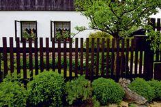 Plot rešpektuje pôvodnú architektúru Trunks, Garden, Plants, Drift Wood, Garten, Tree Trunks, Lawn And Garden, Gardens, Plant