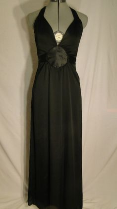 Black Baby Phat Halter Dress size 3 | eBay