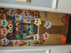 my fall themed classroom door decorations