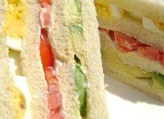 Triple Sandwich-avocado, tomato, egg. Yummmmmmm