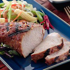 Good Bread... Good Meat... Good God... Let's Eat: Honey Gilled Turkey Tenders with Peanut Sauce