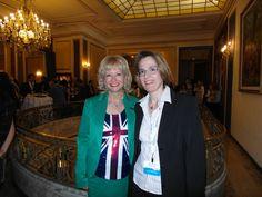 With Helen Doron in Barcelona