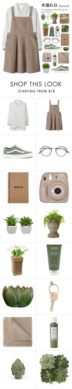 """i'm taking over you ♡"" by embrxce ❤ liked on Polyvore featuring Band of Outsiders, Vans, Garrett Leight, Brika, Fujifilm, Aveda, Maison Margiela, Martex, Linne and Puji"