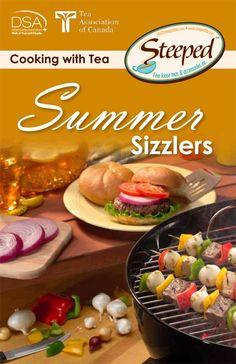 Steeped Tea Summer Sizzlers Recipe Ebook
