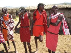 Masaai Mara, Kenya. Such amazing people.