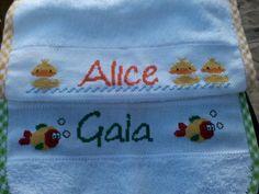 Bavaglino per Alice e Gaia
