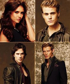 Elena ¤ Stefan ¤ Damon ¤ Klaus - The Vampire Diaries