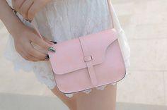 Splendid New Arrival Fashion Women Girl Shoulder Bag Faux Leather Satchel Crossbody Tote Handbag 9 colors