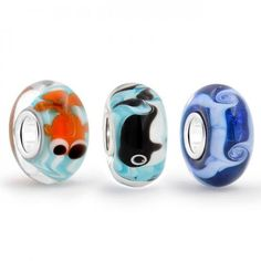 Purchase Aqua Nautical Murano Glass Mix Of 3 Sterling Silver Core Spacer Bead Fits European Charm Bracelet For Women For Teen from Bling Jewelry Inc on OpenSky. Share and compare all Jewelry. Nautical Jewelry, Bling Jewelry, Charm Jewelry, Charm Bead, Bead Jewellery, Silver Jewellery, Charm Bracelets, Glass Jewelry, Beaded Jewelry