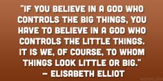 Elisabeth Elliot - A mother to the nations! I just love her.