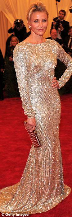 Cameron Diaz in Stella McCartney @ The MET Costume Institute Gala 2012