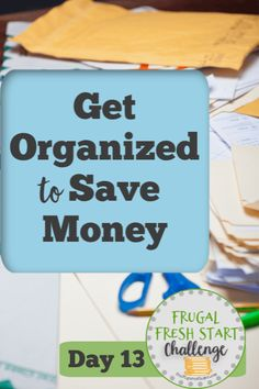 Im willing to bet that weve all had some experience where being disorganized has literally cost us money! Lets look at some areas in our lives where improved organization will save us money. Ways To Save Money, Money Tips, Money Saving Tips, Saving Ideas, Frugal Living Tips, Frugal Tips, Famous Last Words, Budgeting Money, Money Management