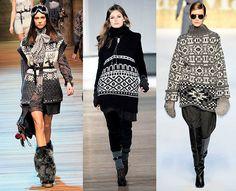 Winter trend: Fair Isle knits