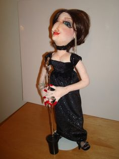 Barbra Streisand  featured in Art Doll Quarterly by LJNuccio, $95.00