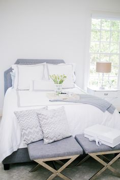 Cozy Neutrals In This Master Bedroom Photography Lindsey Grace Lindseygrace
