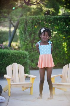 eloise in tealcicle #reyswimwear #reyswimwearlittles #swimdress #toddlerswimdress #modestswimsuit
