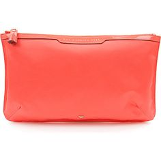 ANYA HINDMARCH Wet Bathing Suit pouch (Coral)