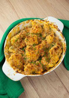 Easy 'Cheesy' Cauliflower